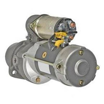Rareelectrical - New Starter Motor Compatible With John Deere 4039 4045 3014 Delco 1113272 11.131.376 Azf4573 1113272 - Image 2