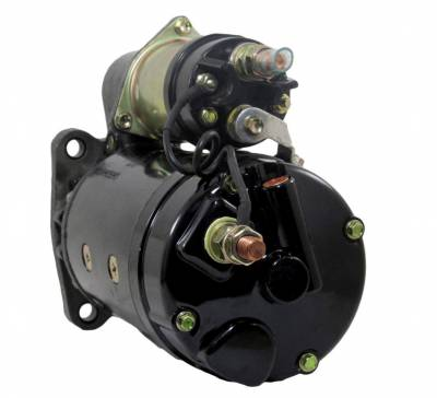 Rareelectrical - New 12V 12T Starter Motor Compatible With International Truck 4000-4900 7100-7700 2011847C91 - Image 2