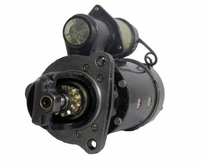 Rareelectrical - New 12V 12T Starter Motor Compatible With International Truck 2554 2564 2654 2674 2011847C91 - Image 1