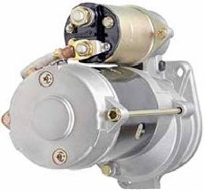 Rareelectrical - New 12V 12T Starter Motor Fits 89-93 Bobcat Articulated Loader 1600 6630182 6649676 - Image 2