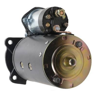 Rareelectrical - New 10T Starter Fits Massey Ferguson Crawlers Mf-200 72-77 Mf-2244 66-71 1107868 - Image 2