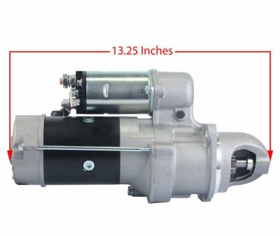 Rareelectrical - Starter Motor Fits John Deere Windrower 3430 3830 3930 10461443 35259580 35259580S 0-23000-2060 - Image 3