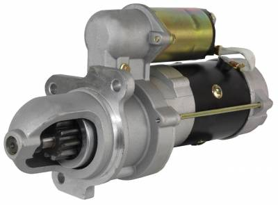 Rareelectrical - Starter Fits Massey Ferguson Tractor Mf-255 Mf-265 Mf-275 1107514 1107539 1903-103-M91 517-533-M93 - Image 1