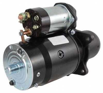 Rareelectrical - New Starter Motor Fits Caterpillar Lift Truck V100 V120 V140 6F6848 7N8402 1108447 - Image 2
