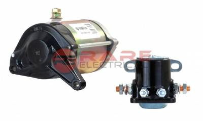Rareelectrical - New High Performance Legend Car Fj1100 1200 1250 Yamaha Engine OEM Starter Motor Compatible With - Image 2