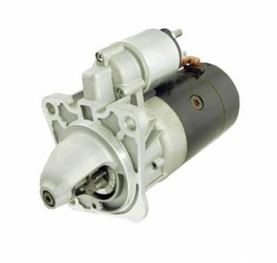 Rareelectrical - New Starter Motor Fits European Model Landrover Defender 2.5L Turbo Diesel 0001218152 - Image 1