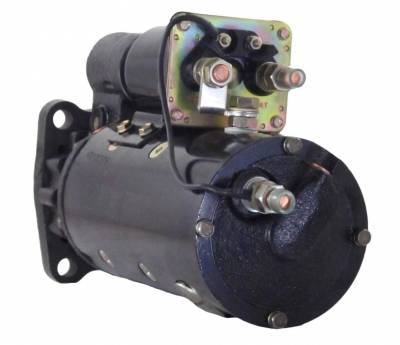 Rareelectrical - New 12V Counter Clockwise Starter Fits 40Mt Delco Type 1114106 1114097 1114059 1114702 1114808 - Image 2