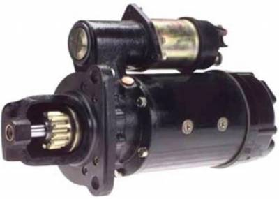 Rareelectrical - New 12V 12T Cw Starter Motor Fits Hyster Lift Truck P-125 P-150 P-165 P-180 12301358 - Image 1