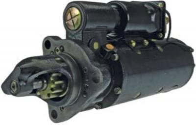 Rareelectrical - New 24V 11T Cw Starter Fits Euclid Scraper 33 37 54 56 64 Sh S-18 Tss-40 - Image 1