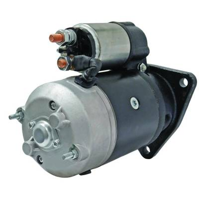 Rareelectrical - New 24 Volt 10 Tooth Starter Compatible With Applications By Part Number 11.131.104 Is1035 Azj3381 - Image 3