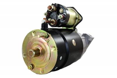 Rareelectrical - New 12 Volts 9 Teeth Starter Motor Fits Mercruiser Stern Drive 228 230 250 260 280 50-69864A1 - Image 2