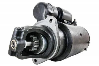 Rareelectrical - New Starter Motor Fits Massey Ferguson Combine Mf410 Mf740 Mf750 Mf760 Perkins Diesel 323-703 323703 - Image 1