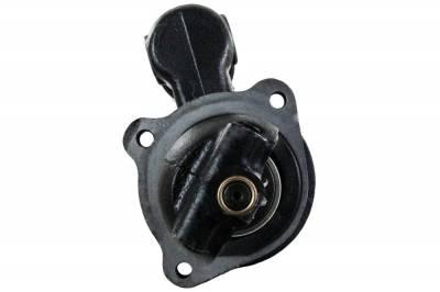 Rareelectrical - New Starter Motor Fits Massey Ferguson Combine Mf410 Mf740 Mf750 Mf760 Perkins Diesel 323-703 323703 - Image 2