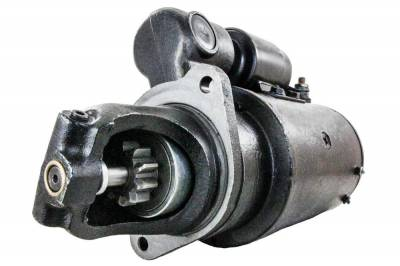 Rareelectrical - Starter Motor Fits White Oliver Tractor 1550 1555 1650 1655 Diesel 230-345-M92 1900-468-M91 - Image 1