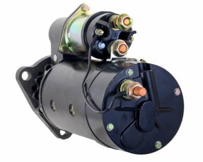 Rareelectrical - New 24V 11T Cw Starter Motor Fits Allis Chalmers Loader 645B 745 745H 745L - Image 2