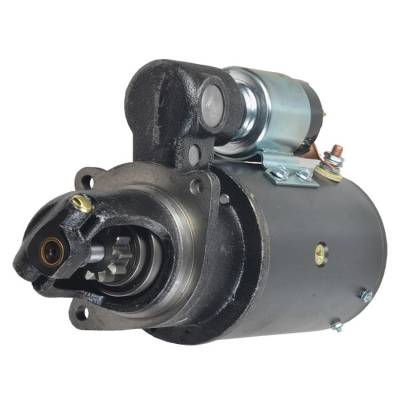 Rareelectrical - New 10T 12V Starter Compatible With Oliver Tractor 1755 1755D 1855 770 164466As 1900-461-M91 - Image 1