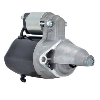 Rareelectrical - New 12 Volt 8 Tooth Starter Fits Cushman Applications 0-986-015-781 944280526090 - Image 1