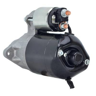 Rareelectrical - New 12 Volt 8 Tooth Starter Fits Cushman Applications 0-986-015-781 944280526090 - Image 2