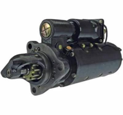 Rareelectrical - New 24V 11T Cw Starter Motor Fits Construction Equipment Grader 660-B 1113957 1113968 - Image 1