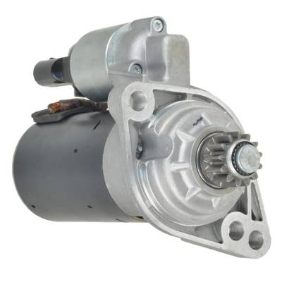 Rareelectrical - New 12 Volt 13 Tooth Starter Fits Audi Europe A3 Sportback 2009-13 02Z-911-023Sx - Image 1