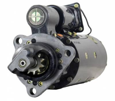 Rareelectrical - New 24V Ccw Starter Motor Fits Waukesha Engine L-5108G L-5790 L-5890 1990236 1990265 - Image 1