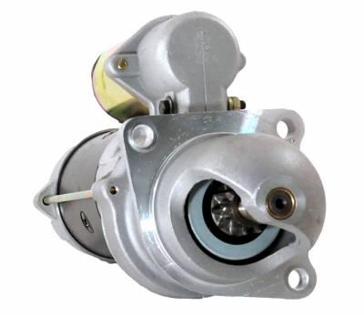 Rareelectrical - New 12V Starter Motor Fits Agco White Tractor 8310 8410 12V 10461466 02231001 3918376 - Image 1
