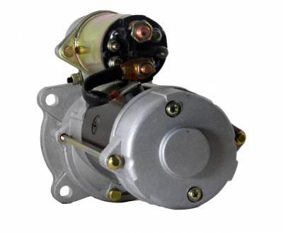 Rareelectrical - New 12V Starter Motor Fits Agco White Tractor 8310 8410 12V 10461466 02231001 3918376 - Image 2