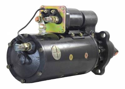 Rareelectrical - New 24V Ccw Starter Fits Caterpillar Industrial Engine 3508 3512 3516 1109297 1109648 - Image 2