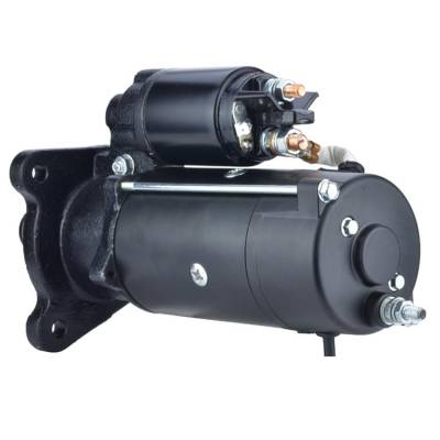 Rareelectrical - New 12V 10 Tooth Starter Fits Ford Tractor 7000 7810 7910 8210 8730 8830 Ms368 - Image 2