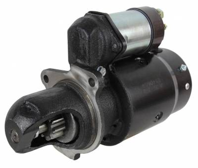 Rareelectrical - New Starter Motor Compatible With Hyster Compactor C-530 C550a 3001021 335865 1109097 199827 3T8191 - Image 1