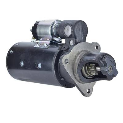 Rareelectrical - New 10T 12 Volt Starter Fits Allis Chalmers Combine M 73-76 G Tractor 72 1113689 - Image 1