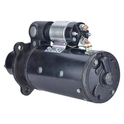 Rareelectrical - New 10T 12 Volt Starter Fits Allis Chalmers Combine M 73-76 G Tractor 72 1113689 - Image 2