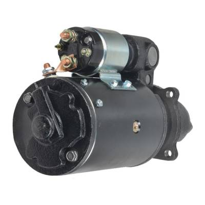 Rareelectrical - New 10 Tooth 12V Starter Fits Oliver Tractor 1550 1555 1650 1655 1750 1900468M91 - Image 2