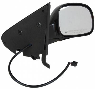 TYC - New Rh Door Mirror Fits Chrysler 01-07 Town & Country Dodge Caravan W/ Heat 60083C Ch1321199 - Image 1