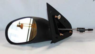 Rareelectrical - New Door Mirror Pair Fits Dodge 00-05 Neon Manual Ch1321158 Ch1320134 60518C 60541C  Ch1321158 - Image 2