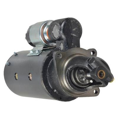 Rareelectrical - New 10T 12V Starter Fits International Tractor 4166D 1972-1974 381035R92 1113409 - Image 1