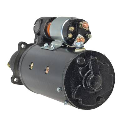 Rareelectrical - New 10T 12V Starter Fits International Tractor 4166D 1972-1974 381035R92 1113409 - Image 2