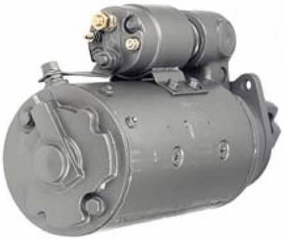 Rareelectrical - New 12V 10T Cw Dd Starter Motor Compatible With International Backhoe Loader I-3850D 11136681113668 - Image 2