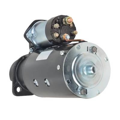 Rareelectrical - New 9 Tooth 12V Starter Fits Lombardini Applications By Number 1998390 1109499 - Image 2