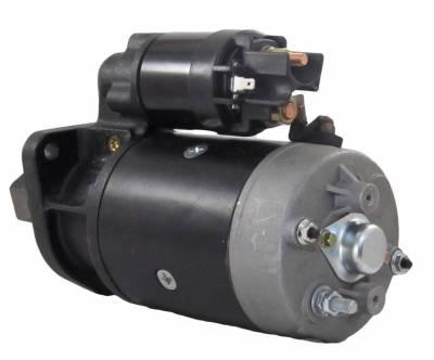 Rareelectrical - New Starter Motor Fits Fermec Backhoe 640B 650B 660B 750 760 860 Perkins Diesel R1104 - Image 2