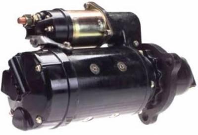 Rareelectrical - New 12V 12T Cw Dd Starter Motor Fits Lincoln Welder Dd 2-53 Diesel 1961-66 12301358 - Image 2