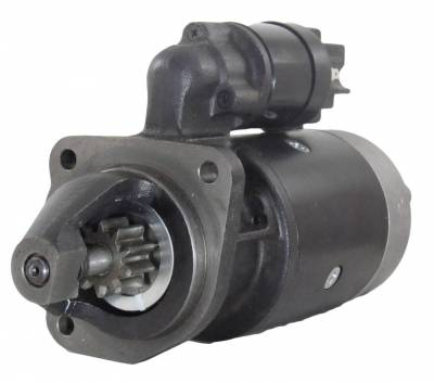 Rareelectrical - New Starter Motor Compatible With Landini Tractor Cabinto Foot Step Pt40 Rp00 Perkins Diesel - Image 1