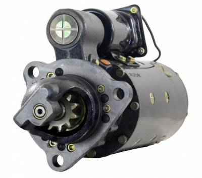 Rareelectrical - New 24V Ccw Starter Fits Caterpillar Industrial Engine 3508 3512 3516 1109297 1109648 - Image 1