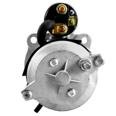 Rareelectrical - New 12 Volt 10 Tooth Starter Compatible With Massey Ferguson Ag Tractor Mf-7497 By Part Number - Image 2