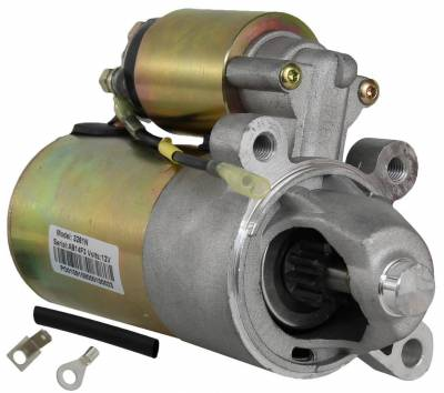 Rareelectrical - New 12 Volt 10T Starter Compatible With Ford Europe Escort 95 Escort 1995-2000 0-986-016-470 - Image 1