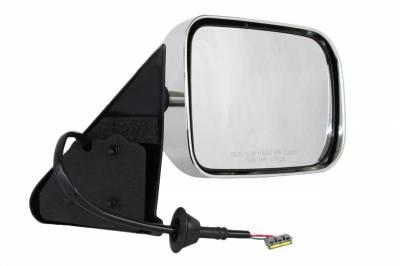 TYC - New Rh Door Mirror Fits Dodge 97 Ram 1500 2500 3500 4000 Power W/O Heat 4675570Ab Ch1321132 55076612 - Image 1