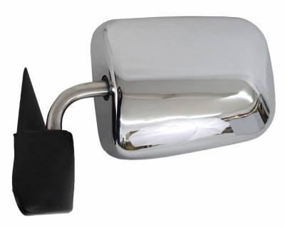 TYC - New Lh Door Mirror Fits Dodge 97 Ram 1500 2500 3500 4000 Power W/O Heat Ch1320132 Ch1320132 55076613 - Image 2