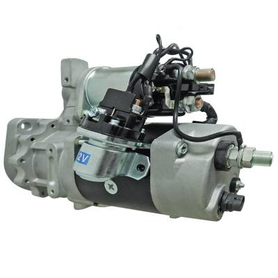 Rareelectrical - New Starter Fits Cummins Isx 11.9L Industrial Engines 8200960 8200971 8201082 8201083 8200793 - Image 2