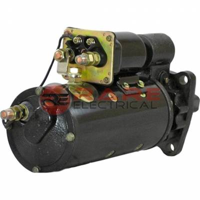 Rareelectrical - New Starter Motor Fits 1980-1985 Ford Heavy Duty B600 B700 B800 8.2L Detroit Diesel - Image 2