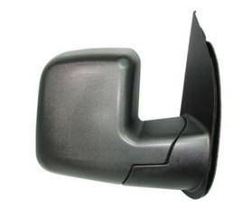 Rareelectrical - New Door Mirror Pair Fits Ford 03-04 Econoline Super Duty Dual Glass Manual Remote Fo1321253 955-496 - Image 2